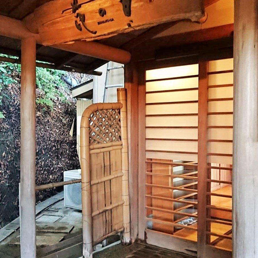 戸田屋野外風呂