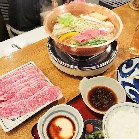 牛しゃぶランチ1300円