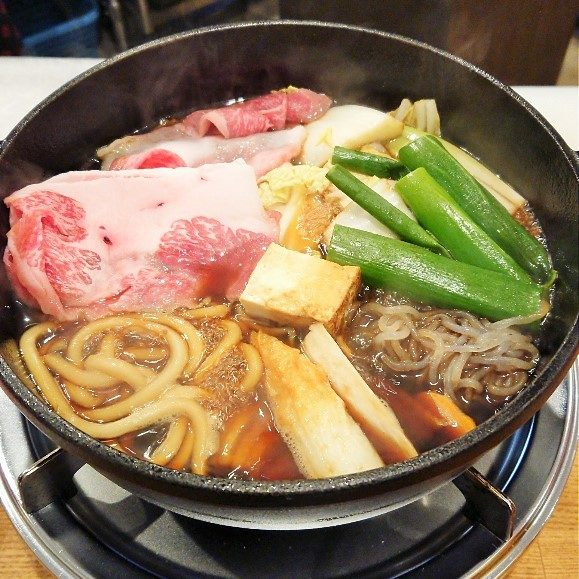 すき焼きランチ1200円