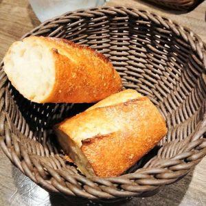 カリッとしたフランスパン